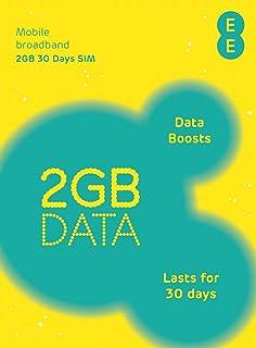 EE 4G SIM イギリス他ヨーロッパ各国対応【2GB / 30日タイプ】