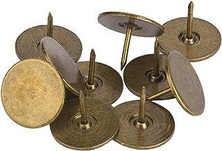 100 stuks bekleding kopspijkers, platte kop punaise assortiment kit meubels nagels ijzer kunst benodigdheden accessoires v...