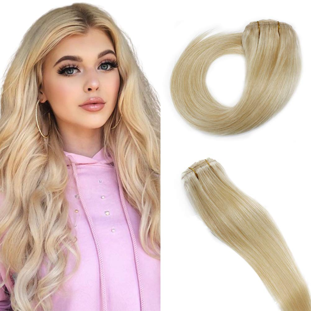 Weekly update Max 50% OFF PERFECTOP Clip In Hair Brazilian Extensions Human 70g