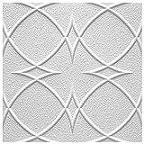 Marbet Design Placas de techo de poliestireno expandido, indeformables, 50 x 50 cm (22 m²).