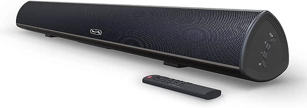100 Watt 40 Inch TV Sound Bar, MEGACRA Home Theater System Wired and Wireless Soundbar Speaker(Bluetooth 5.0, 105dB, Dsp Audio, Bass Adjustable, Wall Mountable)
