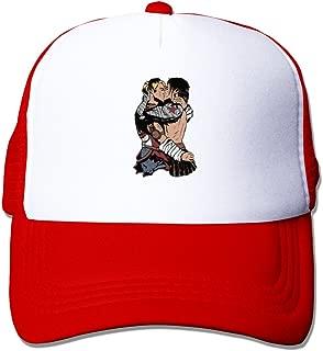 ERTYP Desire Emotional Response Popular Art Style Funny(Winter Soldier) Trucker Cap Black