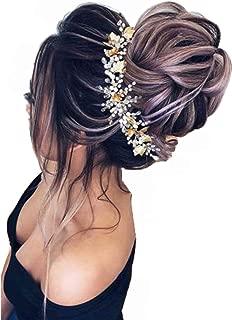 SLLIE 2pcs Messy Hair Bun Extensions Chignons Hair Hair Scrunchie Scrunchy Updo Hairpiece