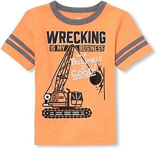 The Children's Place Boys Short Sleeve Graphic T-Shirt Short Sleeve T-Shirt