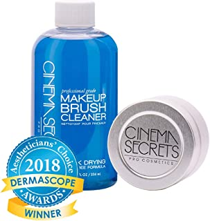 Cinema Secrets Makeup Brush Cleaner Pro Starter Kit, 8 fl oz