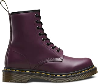 purple doc marten boots