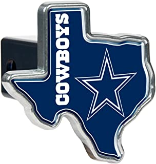 Great American Products NFL Texas Shaped Trailer Hitch Cover