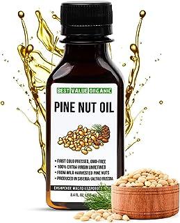 Siberian Pine Nut Oil Siberische Pijnboompitolie 100ml Unrefined Extra Virgin Raw First Cold Pressed