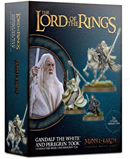 Middle Earth Strategy Battle Games: Gandalf The White and Peregrin Took
