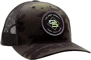 Black Camo DS Patch Hat - Deer Society Custom Headwear