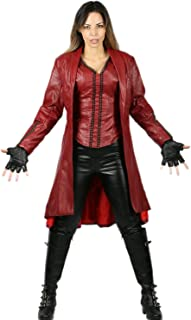 Scarlet Witch Costume for Wanda Maximoff Hallloween Cosplay
