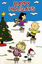 Jetmax Peanuts Happy Holidays Garden Flag 12
