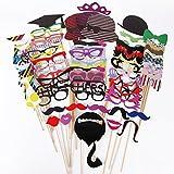 SurePromise Cle de Tous@ 76 Piece Decorative Paper Set for Masquerade Party
