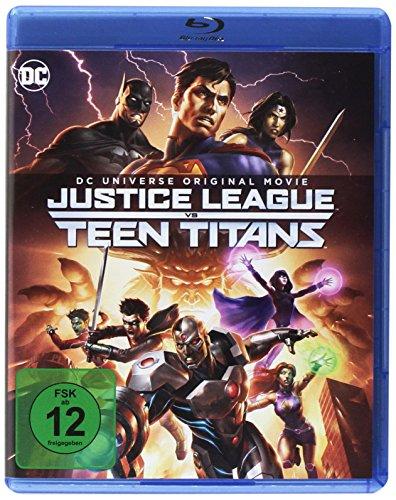 DC Justice League vs Teen Titans [Blu-ray]