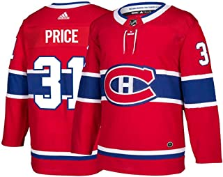 adidas Montreal Canadiens Carey Price Authentic Pro Jersey Red