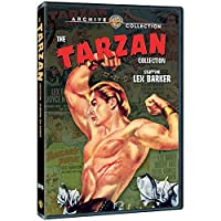 The Tarzan Collection: Starring Lex Barker [DVD] [Import]