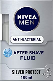 NIVEA, MEN, After Shave Fluid, Silver Protect, 100ml