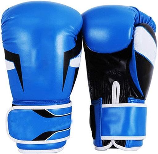 RUIMA Gants de Boxe Formation Sparbague Gant de Frappe Peau de Vache Cuir Kickboxing Muay Thai Sac de Combat Mitaines