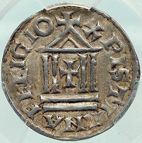 1000 FR FRANCE Carolingian LOUIS the PIOUS Son of Charlem coin AU 53 PCGS