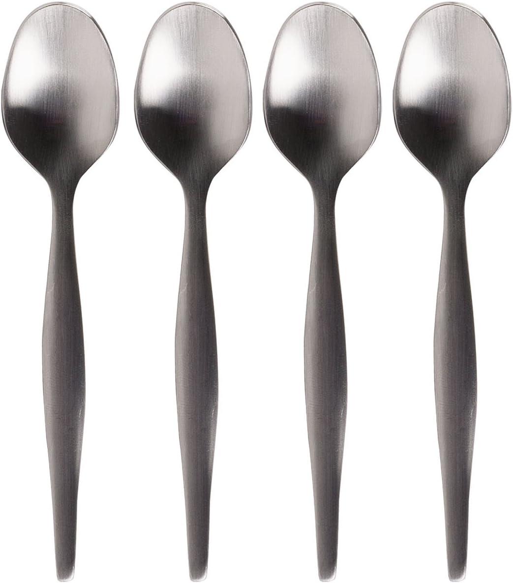 La Cafetiere Espresso Spoons, 2.5 x 15.7 x 12.4 cm, Silver 4 Set