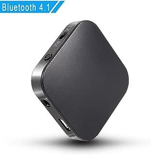 蓝牙 V4.1 发射器和接收器,TopOne 2 合 1 无线音频适配器,带光低延迟 2 对设备用于电视/家庭音响系统NA
