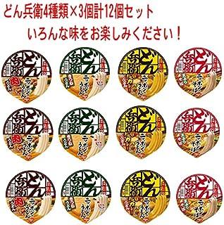 日清食品 どん兵衛 西 シリーズ 4種類×3個(12食) Aセット