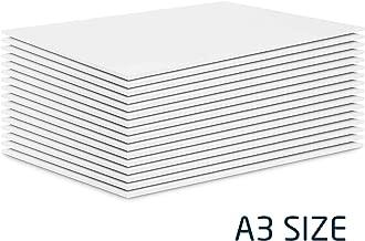 16 x A3 Foam Board - Origa White 5mm Polystyrene Foam Sheet (297 × 420mm)