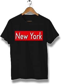 New York T-Shirt - T-Shirt Comfortable 100% Cotton tee