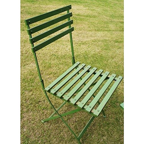 Black Country Metal Works Twin Set Vintage Garden Furniture Collection from Grannie Kate - Chair Only