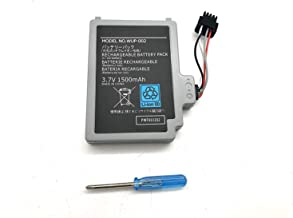 Aluo 3.7V1500mAh New Battery for Nintendo Wii U, Wii U Gamepad, WUP-010 WUP-012