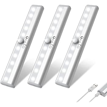 LED Kleiderstange 100cm mit Bewegungssensor Schranklicht Möbelbeleuchtung