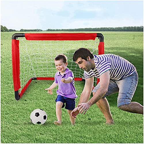 HSWYJJPFB Portería de Fútbol Red de Fútbol para Niños Página de Inicio...