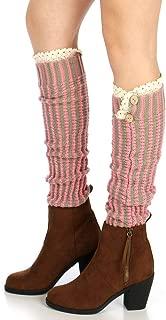 Leg Warmers Women Girls Thick Leg Warmer Winter Warm Cable Knit Fuzzy Leg Warmers Knitted Long Boot Cuffs