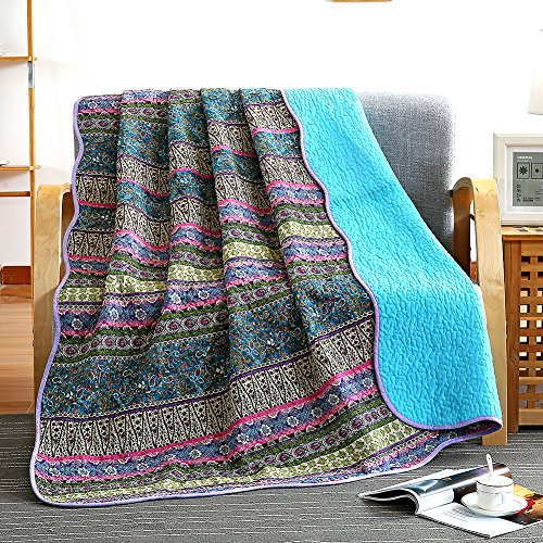 NEWLAKE Quilt Throw Blanket