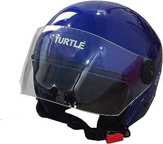 Boston Half Face Helmet (Multi Color) (Blue)