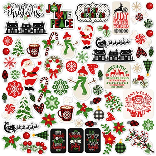 Paper Die Cuts - A Cozy Christmas - Over 60 Cardstock Scrapbook Die Cuts - by Miss Kate Cuttables