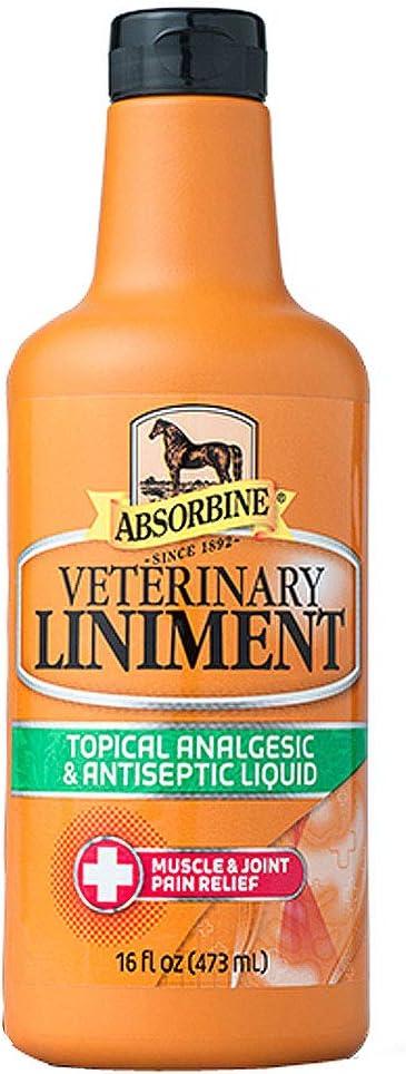Absorbine Veterinary Liniment Max 65% OFF Manufacturer regenerated product 16oz Liquid