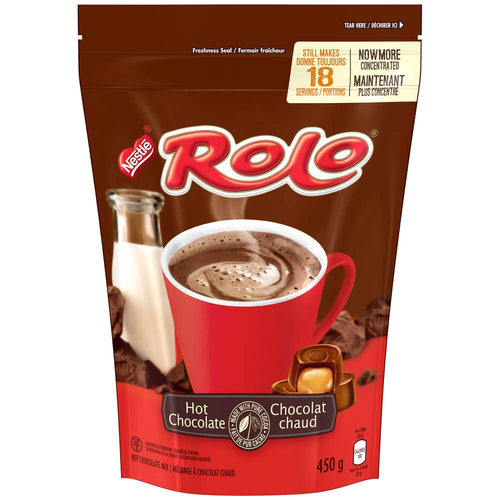 Nestle Rolo Hot Chocolate Finally resale start Cocoa Shipping included from Canada} 450g {Imported Mix