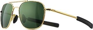 Sponsored Ad - SUNGAIT Men's Military Style Polarized Pilot Aviator Sunglasses Bayonet Temples