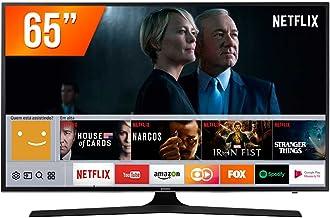 "Smart TV LED UHD 4K 65"", Samsung UN65MU6100GXZD, Preto"