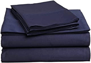 Lusso Mercato 4 PC Bedding Sheet Set Real 800 TC 100% Egyptian Cotton Super Soft Long Staple, Italian Finish Fitted Sheet ...