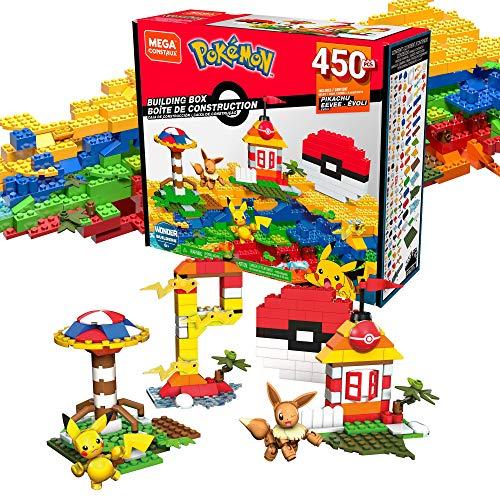 Mega Construx GMD35 - Pokémon Bausteine-Box (450 Teile)