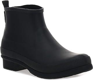 Chooka Women's Classic Chelsea Bootie Rain Boot, Black, 6