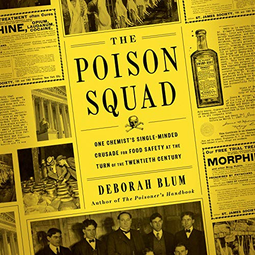 The Poison Squad audiobook cover art
