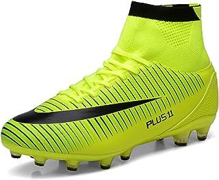 comprar comparacion LIANNAO Botas de Fútbol para Hombre Spike Aire Libre Profesionales AtletismoTraining Deporte Zapatillas de Fútbol Hombre Z...