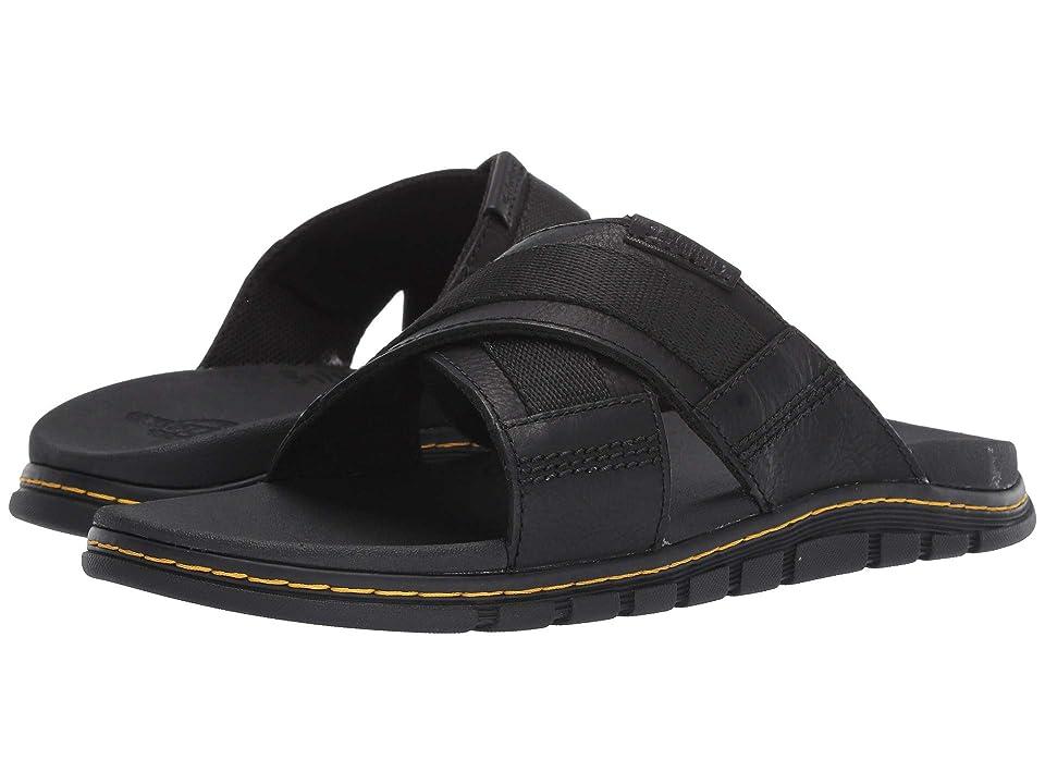 Dr. Martens Athens Slide (Black Carpathian/Webbing) Sandals