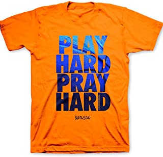 play hard pray hard t shirt