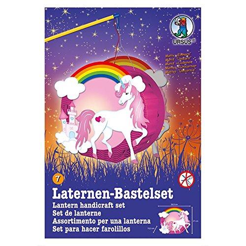 Ursus Laternen-Bastelset Easy Line (nur Laterne, Einhorn)