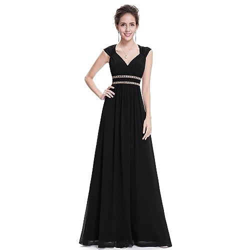 20beefded0a Ever-Pretty Women s Elegant V-Neck Sleeveless Formal Long Evening Dress  08697