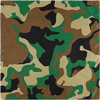CaTaKu - Serviette de table en camouflage - Rétro - Lavable, réutilisable - Pour les serviettes de cocktail - Pour la mais...